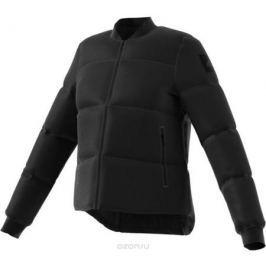 Пуховик женский Adidas W Nuvic Puffa, цвет: черный. BQ6810. Размер L (48/50)