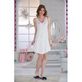 Ночная рубашка женская Sevim, цвет: кремовый. 10374 SV. Размер S (40/42)