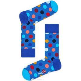 Носки женские Happy socks, цвет: голубой, мультиколор. BDO01. Размер 25