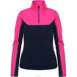 Лонгслив женский Icepeak, цвет: темно-синий, розовый. 854755693IV_966. Размер 38 (44)