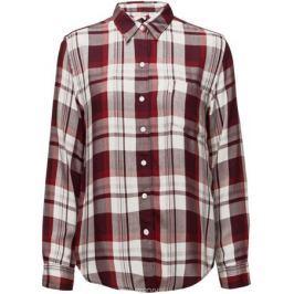 Рубашка женская Levi's®, цвет: белый, красный. 2667700250. Размер XS (42)