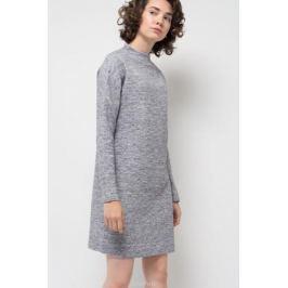Платье Sela, цвет: серый меланж. DK-117/1172-7422. Размер XL (50)