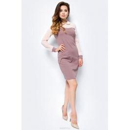 Платье женское La Via Estelar, цвет: кофейный. 14006-1. Размер 52