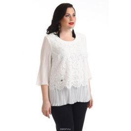 Блузка женская Averi, цвет: экрю. 1215_007. Размер 64 (68)