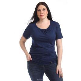 Блузка женская Averi, цвет: синий. 1313_025. Размер 64 (68)