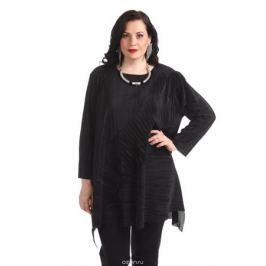 Блузка женская Averi, цвет: черный. 1362_001. Размер 64 (68)