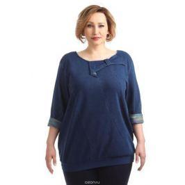 Блузка женская Averi, цвет: синий. 1386_032. Размер 64 (68)