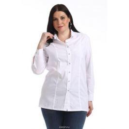Блузка женская Averi, цвет: белый. 1319_006. Размер 64 (68)