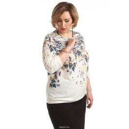 Блузка женская Averi, цвет: экрю. 1366_607. Размер 64 (68)
