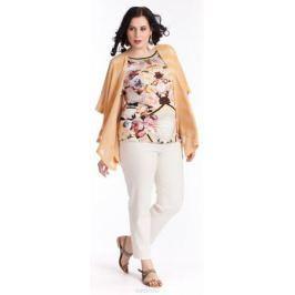 Блузка женская Averi, цвет: белый, розовый, черный. 1238. Размер 64 (68)