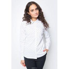 Блузка женская Baon, цвет: белый. B177702_White Printed. Размер M (46)