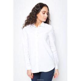 Блузка женская Baon, цвет: белый. B177520_White. Размер XL (50)