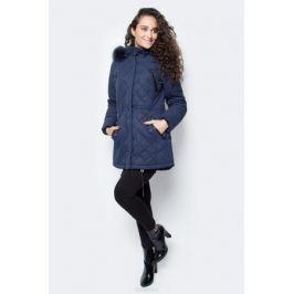 Куртка женская Baon, цвет: синий. B037528_Dark Navy. Размер XL (50)