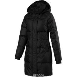Пуховик женский Puma 450 HD Down Coat, цвет: черный. 59242601. Размер L (46/48)