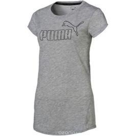 Футболка женская Puma Active Ess No.1 Tee, цвет: светло-серый. 83843804. Размер XL (48/50)