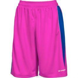 Шорты баскетбольные женские 2K Sport Advance, цвет: пурпурный, синий, белый. 130033. Размер S (42/44)