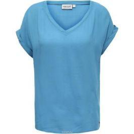 Блузка женская Finn Flare, цвет: синий. S17-11021_115. Размер M (46)