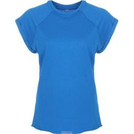 Футболка женская oodji Ultra, цвет: голубой. 14707001-4B/46154/7501N. Размер XXS (40)