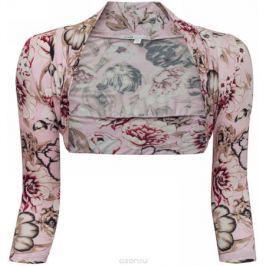 Болеро женское oodji Collection, цвет: светло-розовый. 21300154-2/16753/4133F. Размер 36 (42-164)