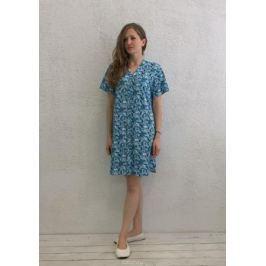 Халат женский Marusя, цвет: голубой. 17110126. Размер XL (50)