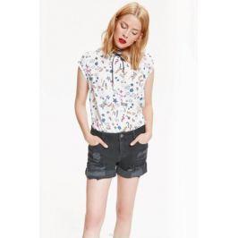 Шорты женские Top Secret, цвет: черный джинс. SSZ0822CA. Размер 36 (44)