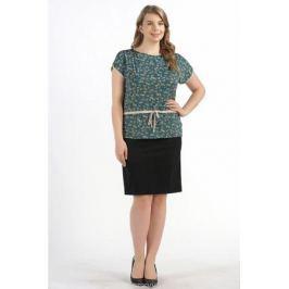 Блузка женская Pretty Women Лодочка, цвет: зеленый. Размер 70