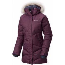 Пуховик женский Columbia Lay D Down Mid Jacket, цвет: сиреневый. 1623131-501. Размер L (48)