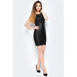 Платье Only, цвет: черный. 15137605_Black. Размер 36 (42)