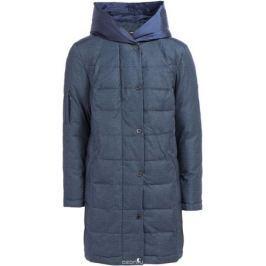 Пальто женское Finn Flare, цвет: темно-синий. W17-32008_101. Размер S (44)