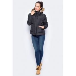 Куртка женская Lee, цвет: черный. L58TWA01. Размер S (42)