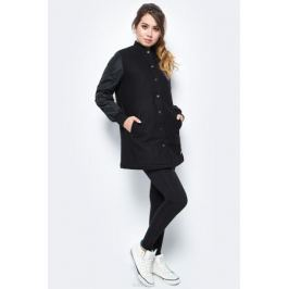 Куртка женская Converse Long Ma-1 Baseball Jacket, цвет: черный. 10004523001. Размер XS (42)