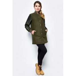 Куртка женская Converse Long Ma-1 Baseball Jacket, цвет: хаки. 10004523348. Размер XS (42)