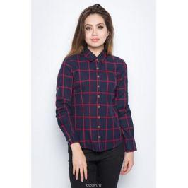 Рубашка женская Bello Belicci, цвет: темно-синий. SA1_9. Размер XL (48)