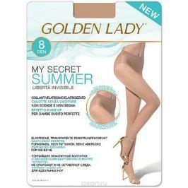 Колготки Golden Lady My Secret Summer 8, цвет: The (чайный). Размер 5