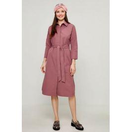 Платье Zarina, цвет: светло-бордовый. 8122034534078. Размер 52