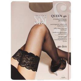 Чулки женские Sisi Queen 40, цвет: телесный. SNL-019805. Размер 4