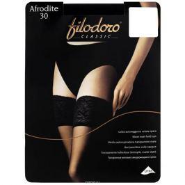 Чулки Filodoro Classic Afrodite 30, цвет: Nero (черный). SSP-002200. Размер 4 (L)