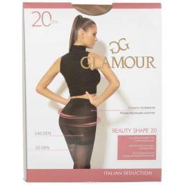 Колготки женские Glamour Beauty Shape 20, цвет: Miele (телесный). 27970. Размер 2 (42/44)