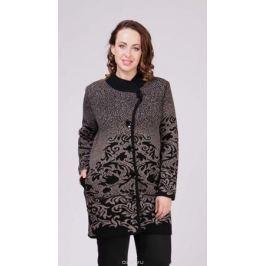 Кардиган женский Milana Style, цвет: темно-бежевый. 34359. Размер 60