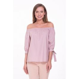 Блузка женская Lusio, цвет: розовый. SS18-370018. Размер XS (40/42) Женская одежда
