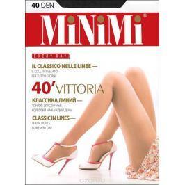 Колготки Minimi Vittoria 40, цвет: черный (nero). Размер 5 (XL)