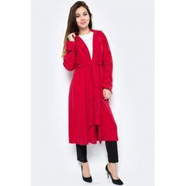 Пальто женское adL, цвет: красный. 17833766000_006. Размер XS (40/42)