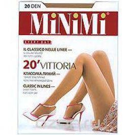 Колготки классические Minimi Vittoria 20. Daino (коричневый). Размер 5 (XL)