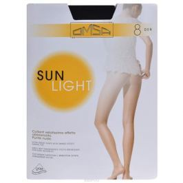Колготки Omsa Sun Light 8. Nero (черные). Размер 2