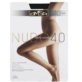 Колготки Omsa Nudo 40. Nero (черный). Размер 5-XL