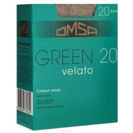 Колготки Omsa Green 20. Beige Tropicale (темно-бежевый). Размер 4-L