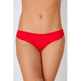 Трусы-бикини женские Vis-A-Vis, цвет: красный. DS1212. Размер XS (42)