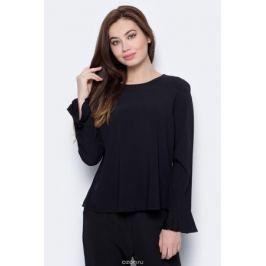 Блузка женская Only, цвет: черный. 15152665. Размер 38 (44)