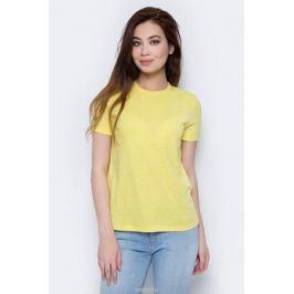 Футболка женская Only, цвет: желтый. 15153555. Размер XL (52)