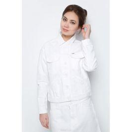 Куртка женская Wrangler, цвет: белый. W415DM12Q. Размер XS (40)
